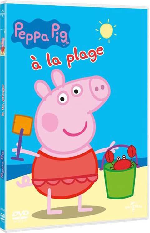 Peppa Pig : à la plage / réalisé par Neville Astley et Mark Baker  | Astley, Neville. Metteur en scène ou réalisateur