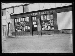 Boutique Darreau, détail / Gustave Fouju |
