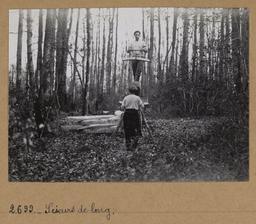 Scieurs de long | Houdard, Georges (1883-1944). Photographe