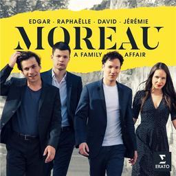 A family affair / Edgar, Raphaëlle, David, Jérémie Moreau | Moreau, Edgar (1994-....). Violoncelle