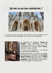 Qu'est-ce qu'une cathédrale ? |