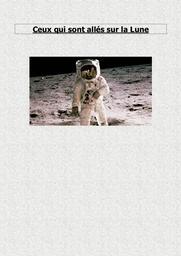 Ceux qui sont allés sur la Lune |