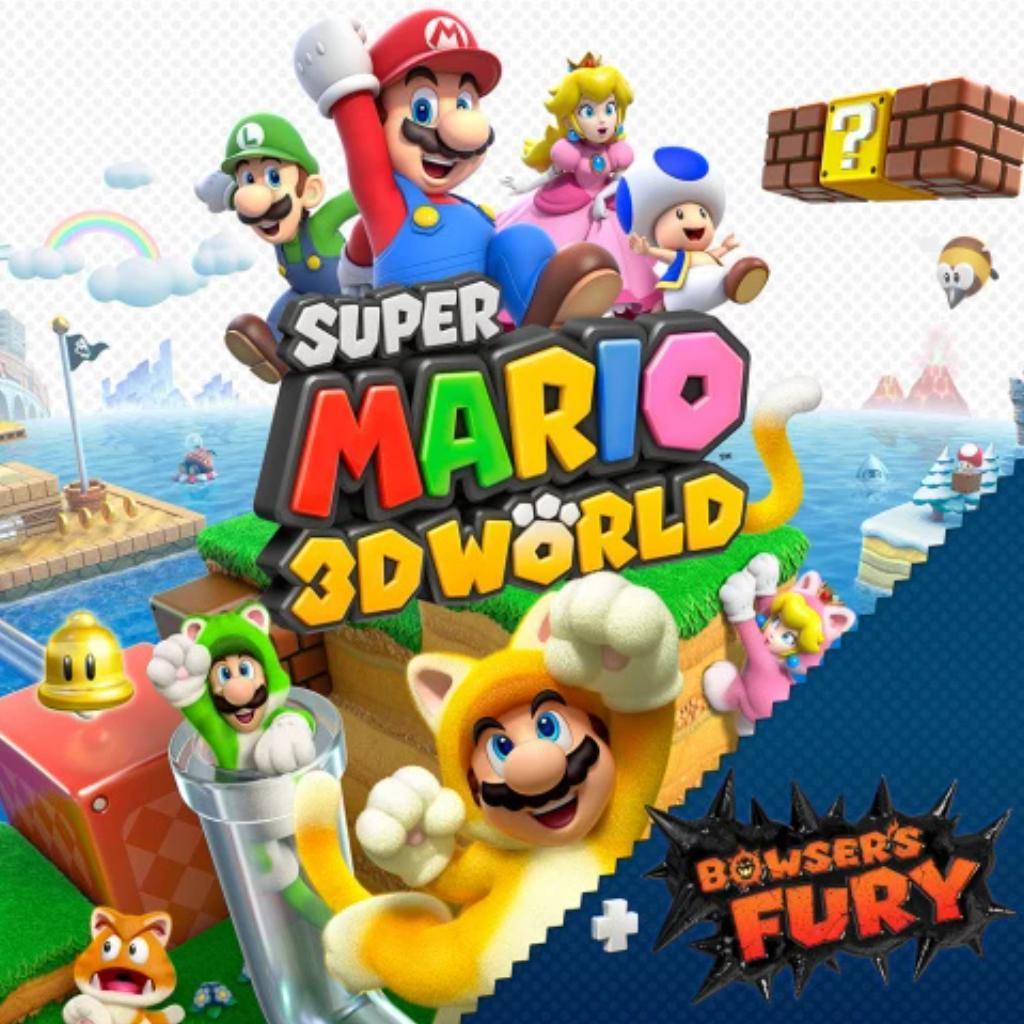 Super Mario 3D World + Bowser's Fury : [Switch] / Nintendo   Nintendo. Programmeur