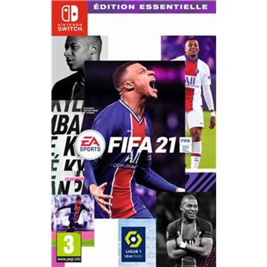 Fifa 21 : [Switch] / EA Sports   EA Sports. Programmeur