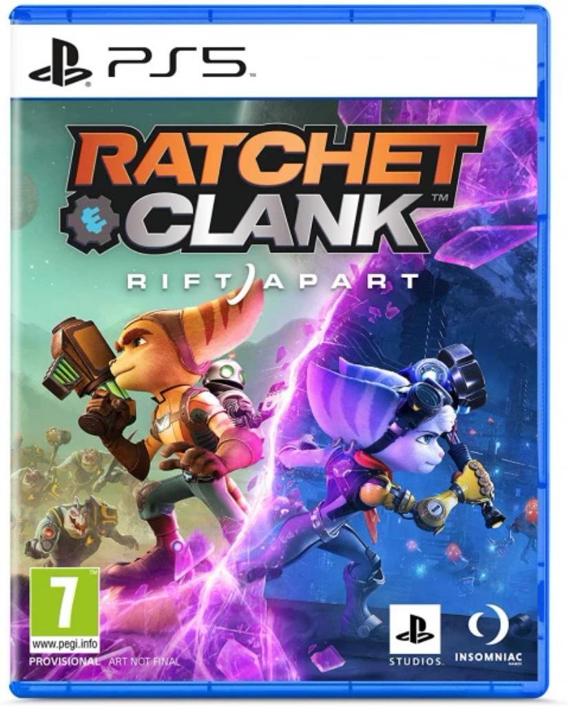 Ratchet and Clank Rift Apart : [PS5] / Insomniac Games   Insomniac Games. Programmeur