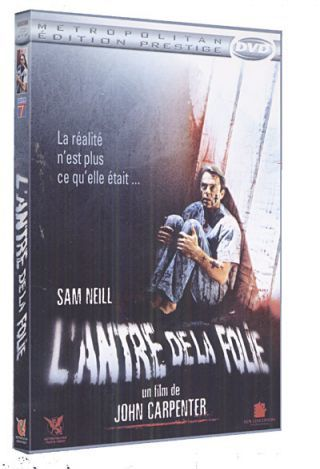 L'Antre de la folie = In the mouth of madness / réalisé par John Carpenter | Carpenter, John. Metteur en scène ou réalisateur