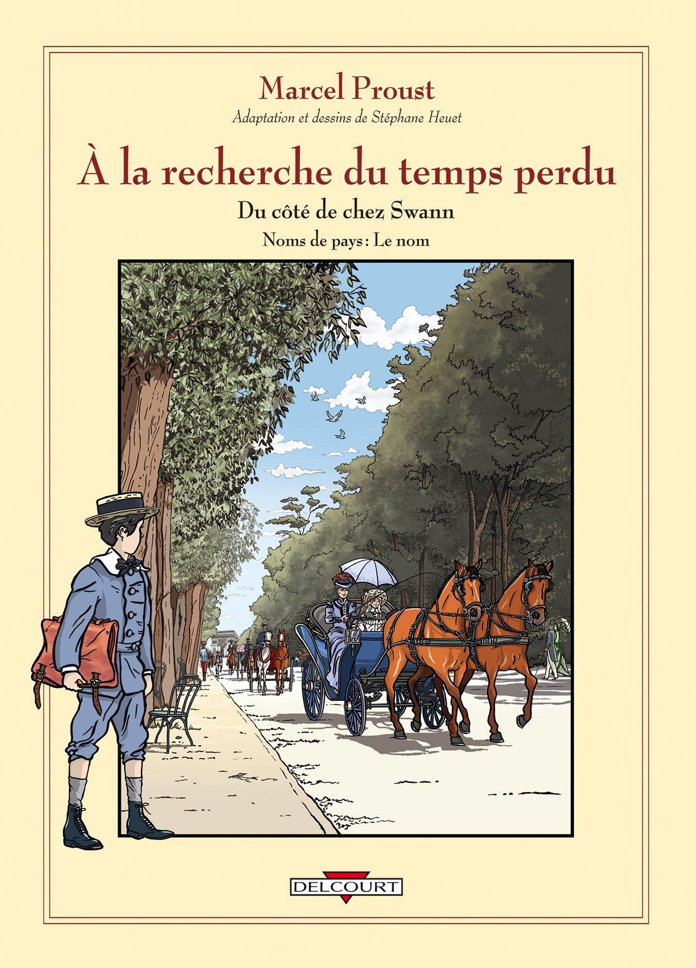 STEPHANE HEUET : À LA RECHERCHE DU TEMPS PERDU EN BANDE DESSINÉE  |